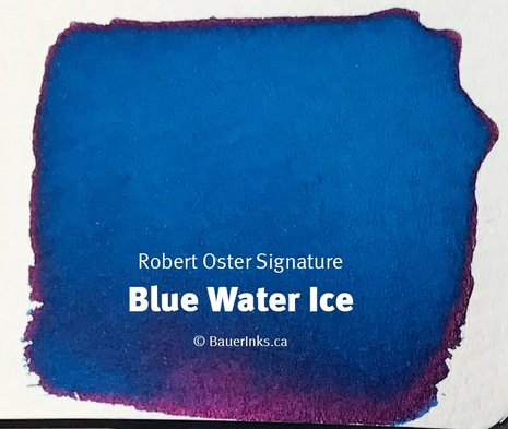 Robert Oster Blue Water Ice Ink (50ml Bottle)
