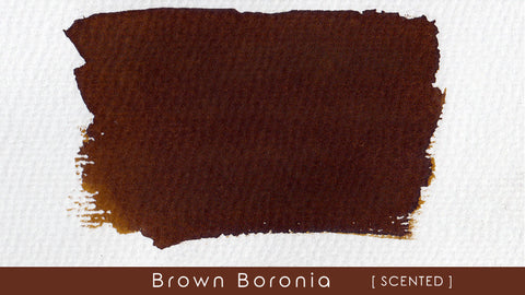 Blackstone Brown Boronia Scented Ink (30ml bottle)