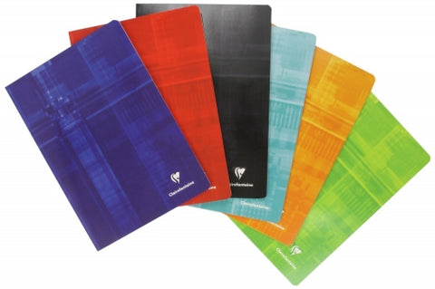 "Clairefontaine Staplebound Lined Notebook - (6.5 x 8.25"")"