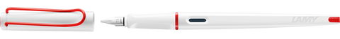 Lamy Joy Calligraphy Fountain Pen - White/Red Special Edition