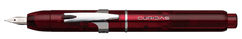 Platinum Curidas Fountain Pen - Gran Red