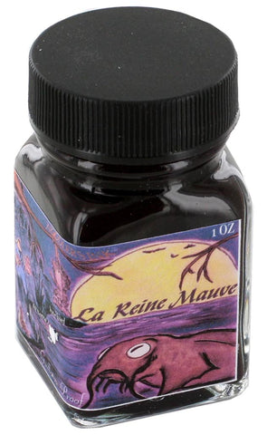 Noodler's La Reine Mauve Ink (1 oz Bottle)