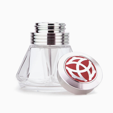 TWSBI Diamond 50 Polished AL Ink Bottle - (Polished Aluminum)