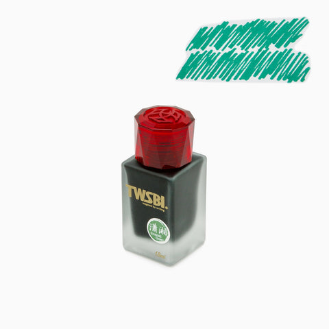 TWSBI 1791 Ink - Emerald Green (18 mL Bottled Ink)