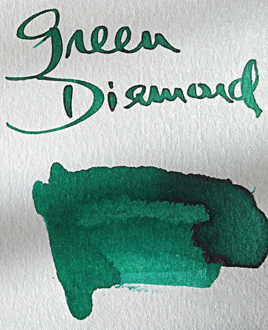 Robert Oster Green Diamond Ink (50ml Bottle)