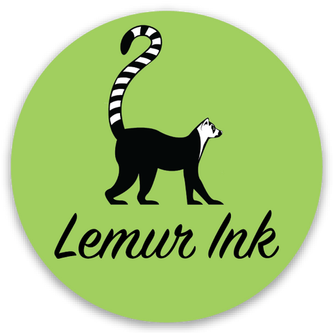 Lemur Ink Sticker