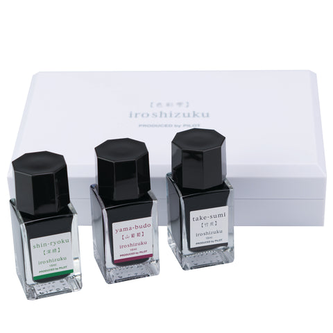 Pilot Iroshizuku Ink Mini Boxed Set - Fall Edition