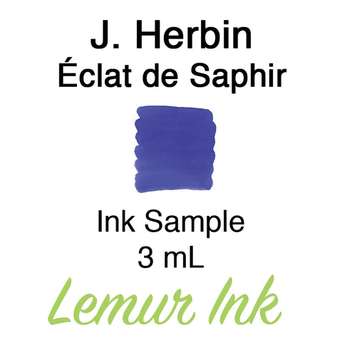 J. Herbin Éclat de Saphir - Ink Sample