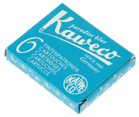Kaweco Paradise Blue Ink Cartridges (6)