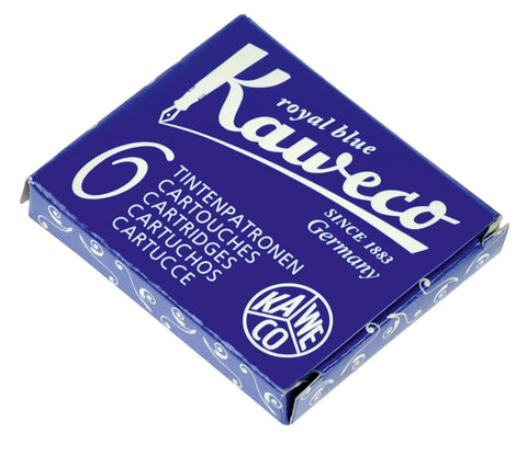 Kaweco Royal Blue Ink Cartridges (6)