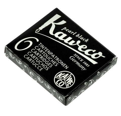 Kaweco Pearl Black Ink Cartridges (6)