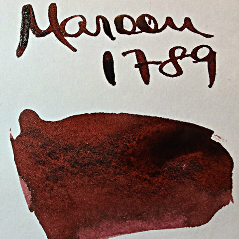 Robert Oster Maroon 1789 Ink (50ml Bottle)
