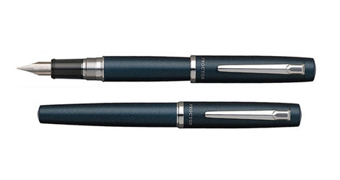 Platinum Procyon Fountain Pen - Deep Sea