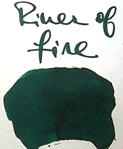 Robert Oster River Of Fire Ink (50ml Bottle)