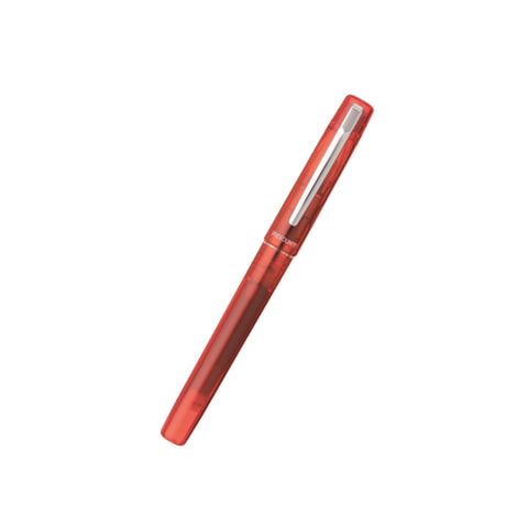 Platinum Prefounte Fountain Pen - Vermillion Orange