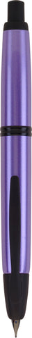 Pilot Vanishing Point Fountain Pen - Metallic Tropical Purple