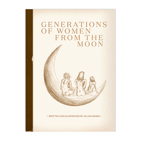 Generations of Women From the Moon Poetry Book