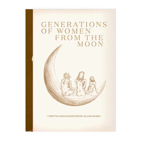 Generations of Women From the Moon Poetry Book + Digital Album