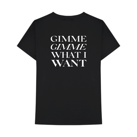 Banks Gimme Black T-Shirt + Digital Album