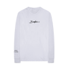 "White ""I Belong to No One"" Long Sleeve + Digital Album"