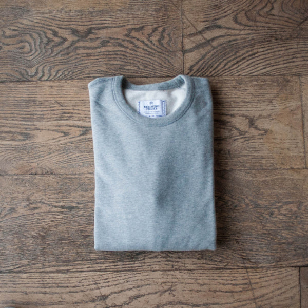 Midweight Crewneck Heather Grey