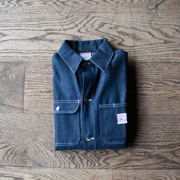 Chore Coat Indigo Denim
