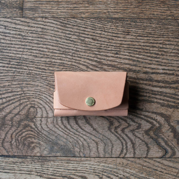 Cardholder Natural Veg Tan
