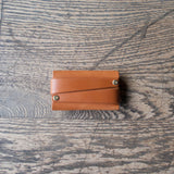 Cardholder Saddle Tan