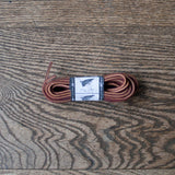 Leather Boot Laces (Chestnut)