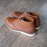 Red Wing 1907 Copper Rough Tough Leather rear 3/4 view