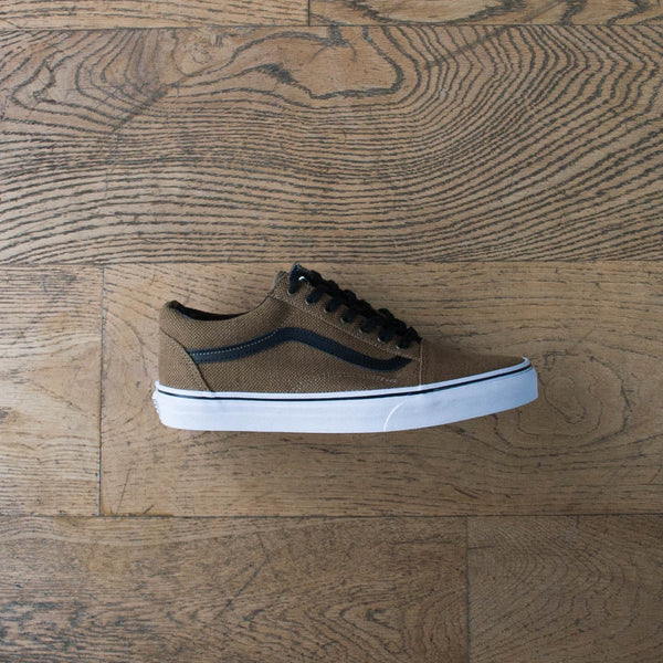 Old Skool (Jute) Walnut/Black