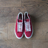 Court Mid (Pig Suede) Chili Pepper