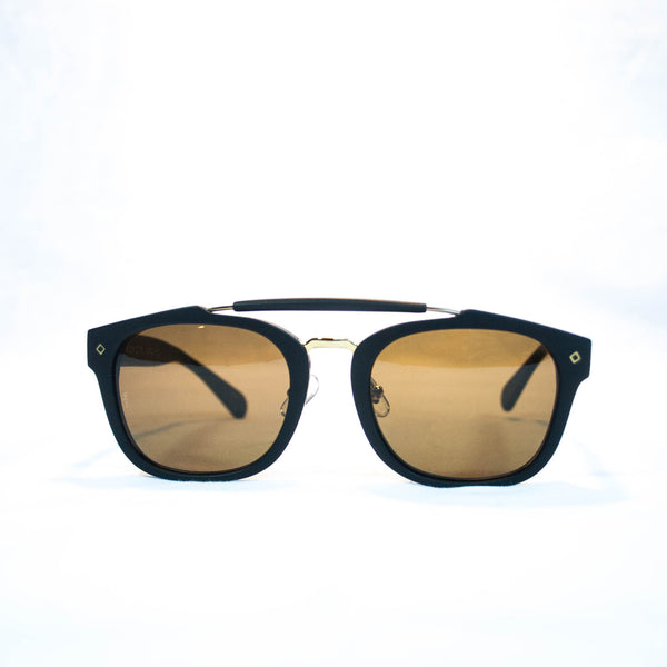 Wonderland Riverside sunglasses black carl zeiss bronze lenses
