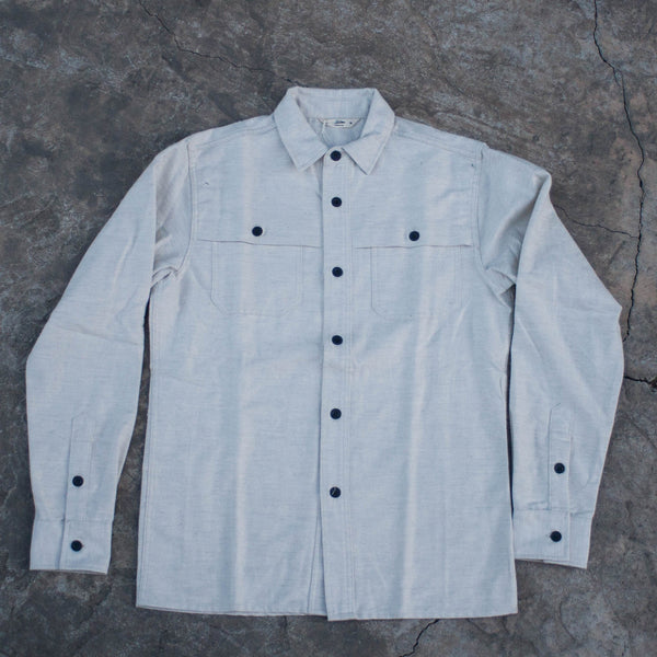 Hunting Shirt Ivory Flannel