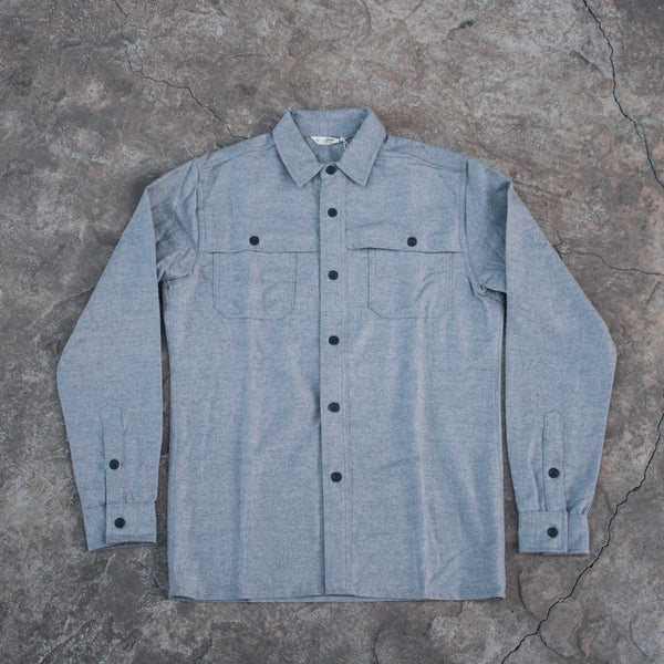 Hunting Shirt Grey Flannel