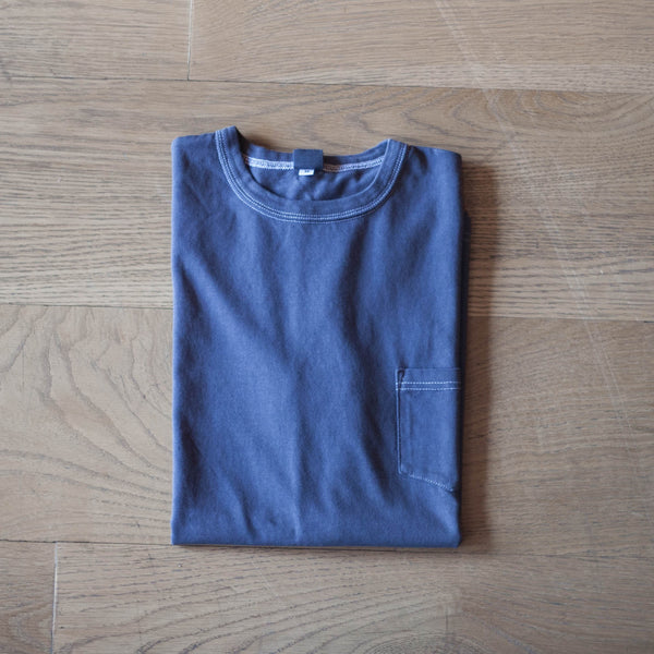 Garment Dyed Pocket T-Shirt Purple