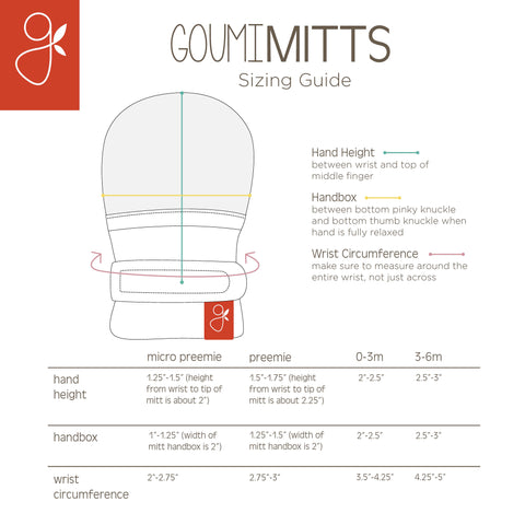 mitts sizing guide