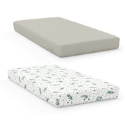 2PK CRIB SHEETS | MOSS + BOTANICAL