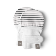 MITTS | STRIPE GRAY