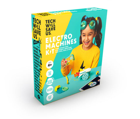 juguetes educativos - electro machine kit