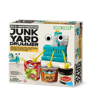 Junkyard Drummer - robots divertidos - juguetes educativos STEAM