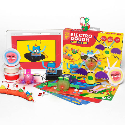 Electro Dough Fantasy Kit - juegos para aprender a inventar - juguetes educativos STEAM