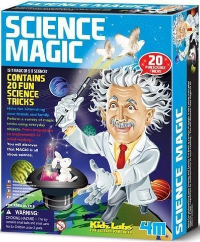 Science Magic - Juguetes educativos STEAM para niños de 8 años