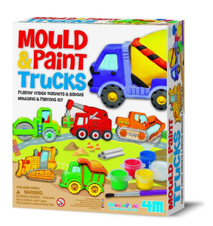 Mould & Paint Trucks - Juguetes creativos - Juguetes educativos - Juegos STEAM