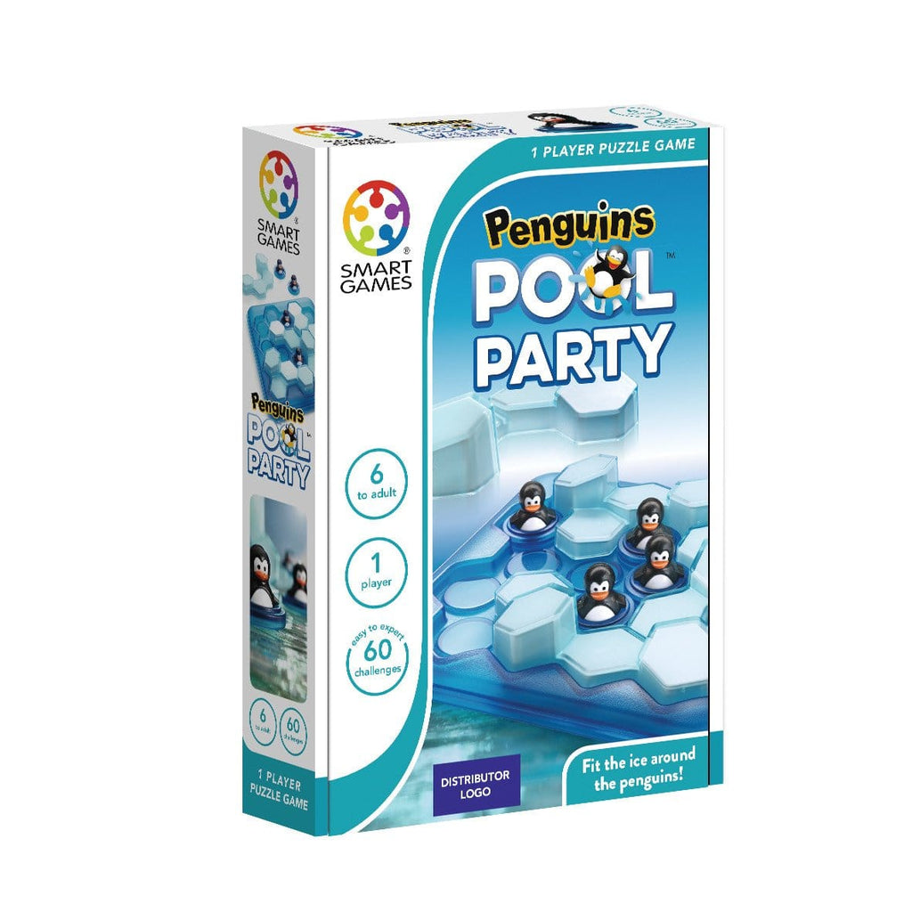 Juegos de lógica - Juguetes educativos - Smart Games - Penguins Pool Party