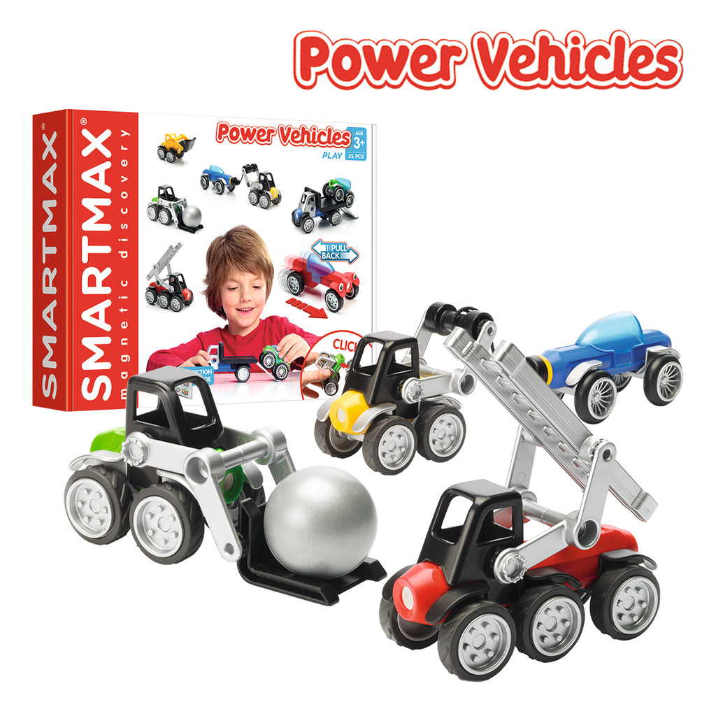 Power Vehicles - juegos para aprender a inventar - juguetes educativos STEAM