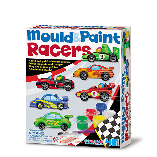 Mould & Paint Racers - Juegos educativos - Manualidades
