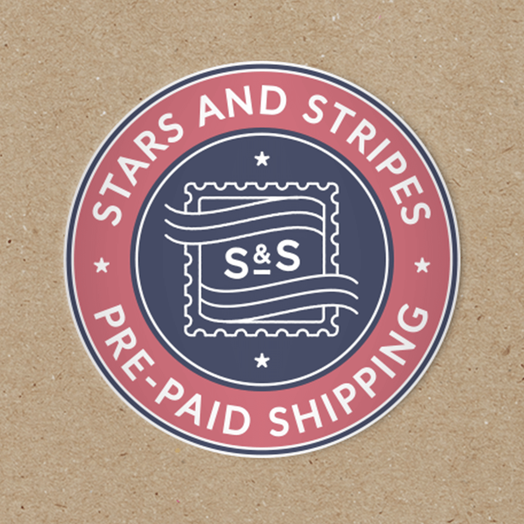 Stars & Stripes Pre-Paid Shipping