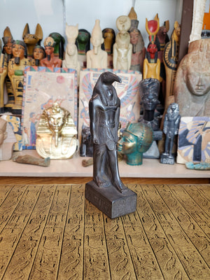 Thoth Statue - Handcarved Black Basalt