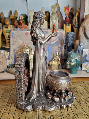 Celtic Goddess Brigid Statue